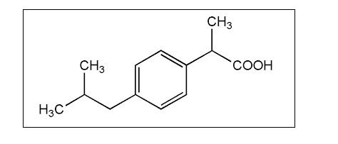 ibuprofen wzór