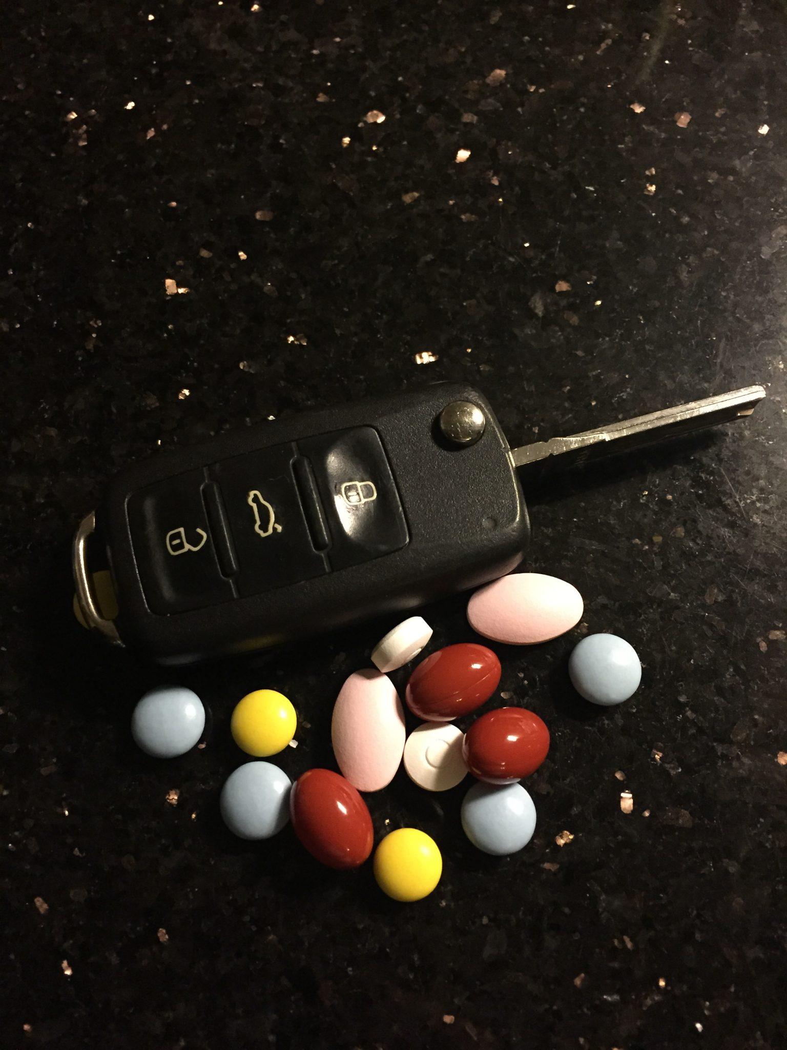 Leki i prowadzenie samochodu