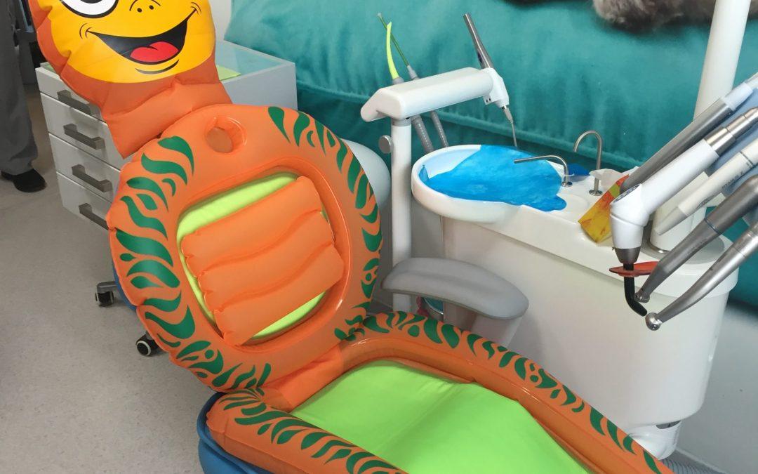 Fotorelacja z naszej wizyty adaptacyjnej w gabinecie stomatologicznym:)