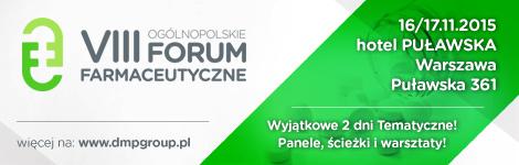VIII Ogólnopolskie Forum Farmaceutyczne