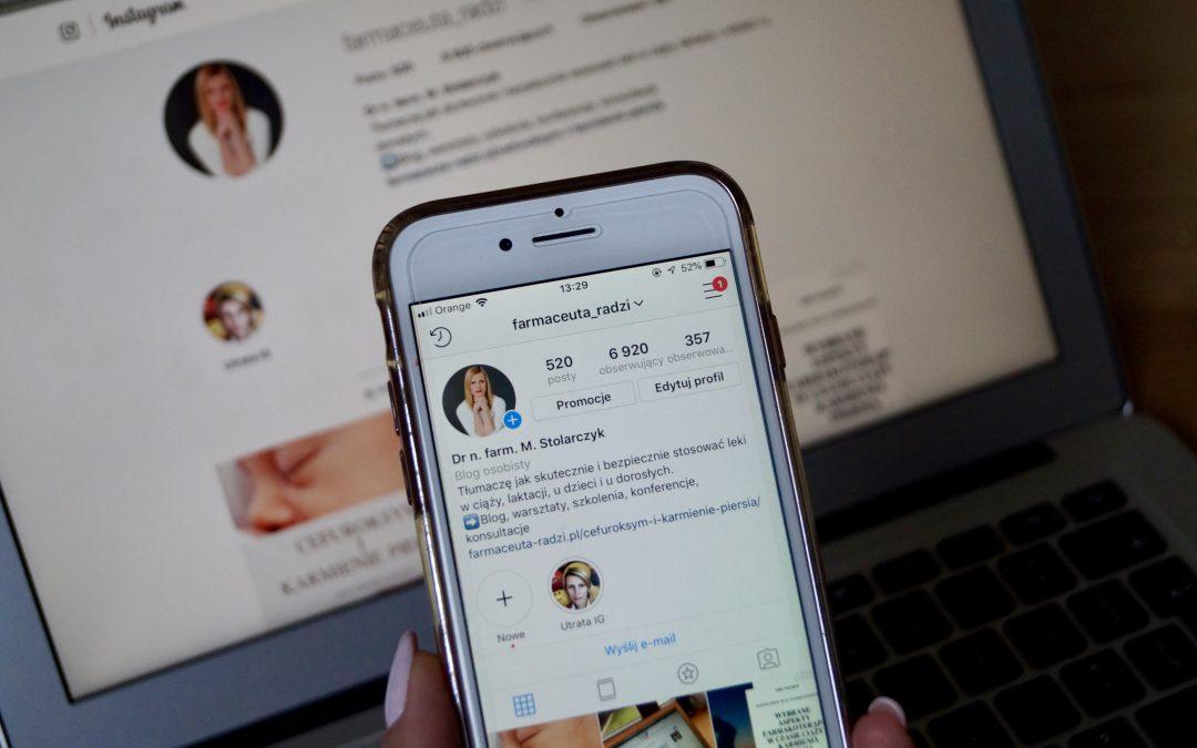 Jak odzyskać konto na Instagramie?